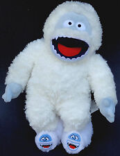Build a Bear Bumble Snow Monster 17in Yeti Plush Rudolph Christmas TV w Slippers