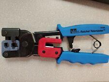 Ideal 30 696 Ratchet Telemaster Crimp Tool Crimper Hand Tool Amp Equipmentblue