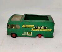 Vintage Matchbox King Size Racing Car Transporter No K-5 missing tyre