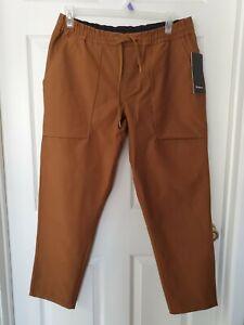 "NWT Lululemon Men's Bowline Pant Utilitech 30"" Burnt Caramel  BTCA Size XL"