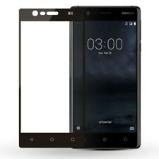 Premium 0,3 mm gebogenes H9 2.5D Panzerglas Schwarz Folie für Nokia 6 2018 Neu