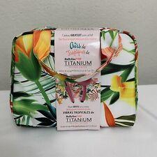 "BaByliss PRO Titanium Thermal Travel Tote Bag , 3/4"" Straightener & Dryer Gift"
