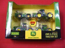 ertl john deere 4wd 4 pc tractor set sealed in original package