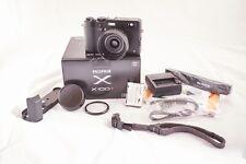 Fujifilm Fuji X Series X100T 16.3MP Digital Camera - Black w/extras