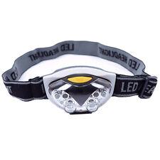 LED Head Lamp Torch Light Hands Flashlight With Headband Emergency Survival LW