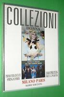 Magazine Collezioni Donna N.25 Spring/Summer 1992 Moda Claudia Schiffer Milano