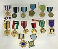 More details for collection of us army & air force medals - 14 medals
