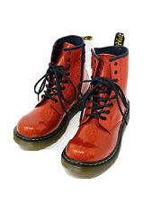 Dr. Martens Red Glitter Boots