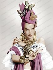 8x10 Print Carmen Miranda The Gangs all Here 1943 #CM20