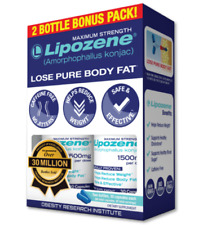 Lipozene Maximum Strength Weight Loss Supplement, 60 Capsules (See description)