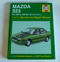 Mazda 323 1.3 1.5 1.6 1.8 Petrol 1989-98 Haynes Manual 3455 G to R Reg