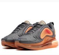 Nike Youth Shoes Size 4Y Air Max 720 Gunsmoke Orange AQ3196-004