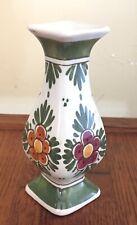 Vintage D.K. Polychrome Handgesch Holland Pottery Miniature Vase