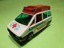GUISVAL RENAULT ESPACE HOSPITAL URGENCIAS - AMBULANCE - 1:43 - VERY GOOD