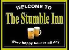 Personalised Large (A4)Pub sign, Home Bar,homebrew, Funny drinking sign Free P&P