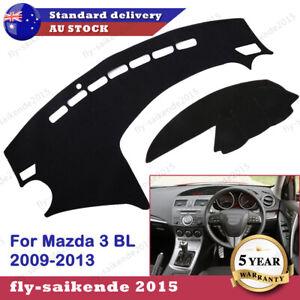 For Mazda 3 BL 2009-13 Car Dashmat Dashboard Dash Mat Cover Sun Shade Pad Black