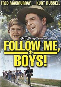 Follow Me, Boys (DVD, 2004) Fred MacMurray Kurt Russell NEW