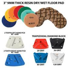 Tpsx1 Floor Grinder Accessory Kit 6 ea Diamond Grinding Traps and Polishing Pads