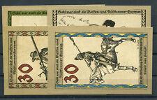 Suhl 4 Scheine Notgeld ...................................................2/7405