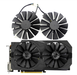 Fan For ASUS STRIX RX 470 580 570 RX470 RX480 RX570 RX580 Card New T129215SM
