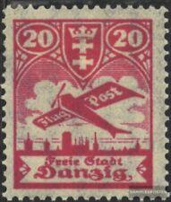 Gdansk 203 usado 1924 Correo aéreo