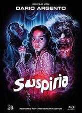 Suspiria - Restored 40th Anniversary  Mediabook # BLU-RAY-NEU