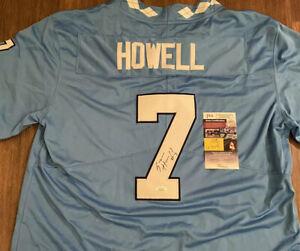 Sam Howell Signed/Autographed UNC Tar Heels Custom Football Jersey (JSA COA)