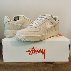 Nike Air Force 1 Stussy Fossil CZ9084-200 Size 9.5
