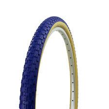 "NEW! 24"" x 1.75"" BMX bike BLUE GUM WALL Comp 3 design bicycle tire 65PSI"