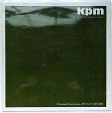 KPM 1161 Various - Industry (Volume 1) Music Production Library Vinyl LP