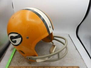 Vintage GREEN BAY PACKERS Rawlings HNFL Air-Flow NFL Football Helmet ~ SMALL S
