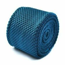 Cravatte da uomo blu 100% Seta
