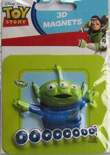 Toy Story * Alien * 3d * magnético aprox. 8 x 8,5 cm * Disney * nuevo (12)