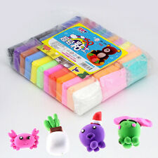 Super Light Clay Toy DIY Plasticine Air Drying Polymer Modelling Slime 36 Colors