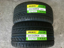 NEW (Set of 4) 255 30 20 (x2) & 305 25 20 (x2) Delinte Thunder D7 series tires