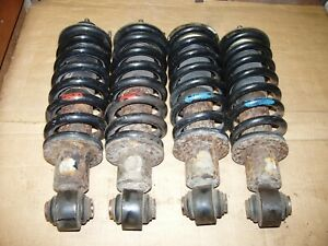 MG TF Front and Rear Shock Absorber Shocker Strut Coil Over set of 4