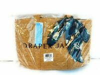 NEW! Draper James Straw Bag with Floral Scarf - RETAIL $ 75