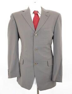 HUGO BOSS Anzug Angelico Parma Gr.50 grün uni Einreiher 3-Knopf -C5