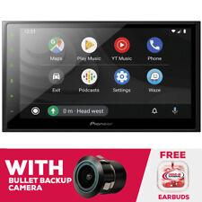 "New listing Pioneer Dmh-2600Nex 6.8"" Mechless Digital Media Receiver & Bullet Backup Cam"