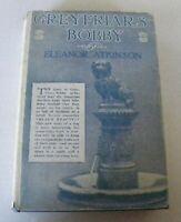 Greyfriars Bobby Eleanor Atkinson 1912 HC/DJ