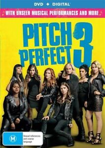 Pitch Perfect 3 DVD 2018 Brand New & Sealed
