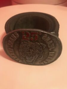 ARMANI JEANS LEATHER BELT MADE IN ITALY 100%