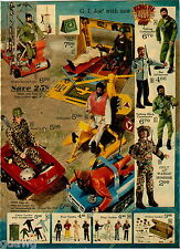 1974 PAPER AD 4 Pg Action Figure GI Joe Big Jim Boy Scout Apes Johnny West Jane