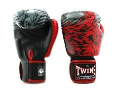 Twins Special Fancy Boxing Gloves FBGV-50 14 oz Red