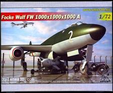 Unicraft Models 1/72 FOCKE WULF Fw-1000x1000x1000 A Longe Range Bomber