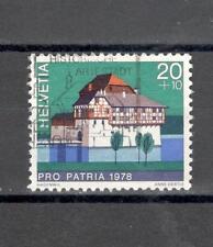 SVIZZERA CH 1060 - 1978 CASTELLI - MAZZETTA  DI 5 - VEDI FOTO