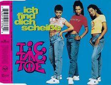 TIC TAC TOE : ICH FIND DICH SCHEISSE / CD - TOP-ZUSTAND