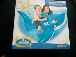 Inflatable Intex Frosted Shark no labels
