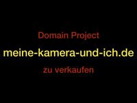 + TOP LEVEL DOMAIN + meine-kamera-und-ich.de + TLD Photo, Nature, Travel
