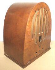 New Listingvintage Philco Model 60B / 4th version Cathedral Radio: Wood Shell year 1936